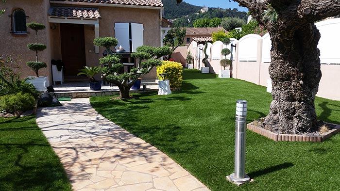 Achat et livraison d' une pelouse artificielle à Salernes