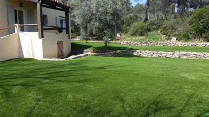 Jardin provençal avec notre Bella 32